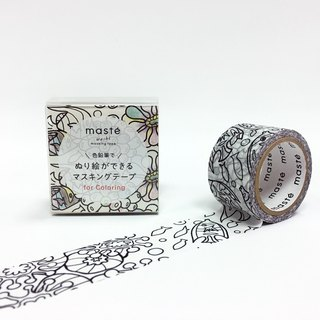 maste Masking Tape for Coloring【Animal (MST-ZC02-A)】