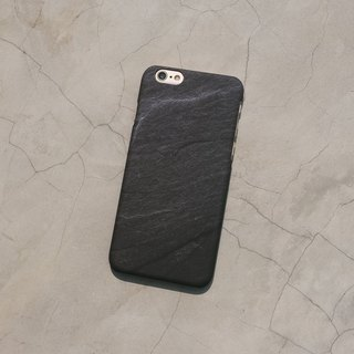 Original frosted rock Phone case (iPhone model) with volcano pattern and hard shell back case