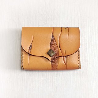 POPO│ Taiwan rock unique crag│. Documents Pouch Leather │