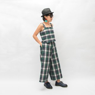 TOMÁS 2-Piece Matching Set - Scottish Plaid