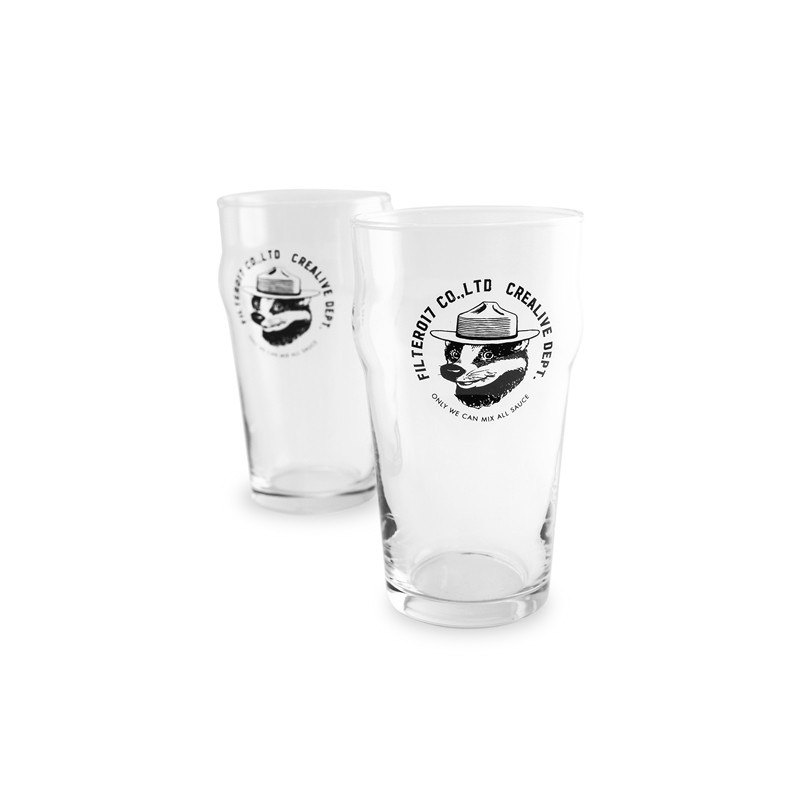 Filter017 Mix Badger Beer Glass / Miser Badger Glass Beer Mug