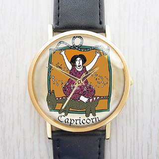 Capricorn - Women's Watch / Men's Watch / Neutral Table / Accessories [Special U Design]