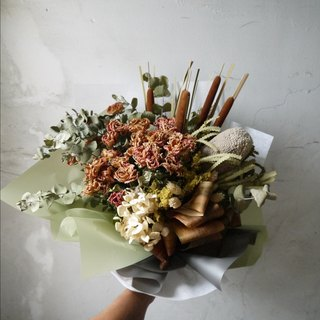 Love Earth Color. Dry Bouquet Father's Day Bouquet. Teacher's Day Bouquet