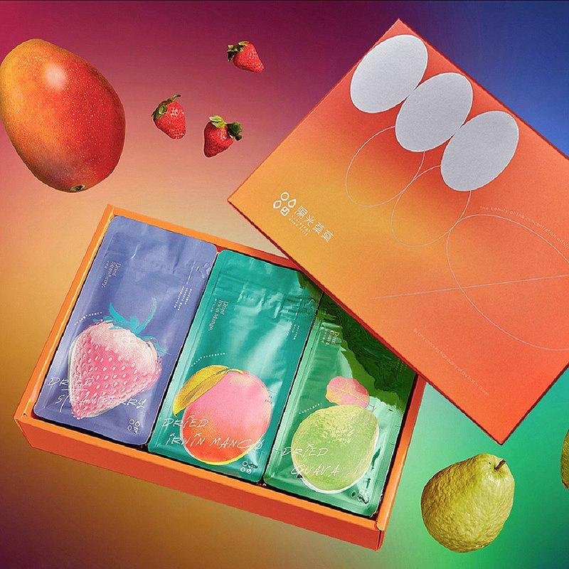 【陽光菓菓】微甜彩系列五入禮盒/附提袋