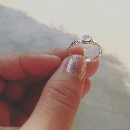 Cat Eye stone ring