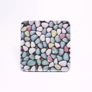 Bathroom Mosaic Tile [Taiwan Impression Square Coaster]