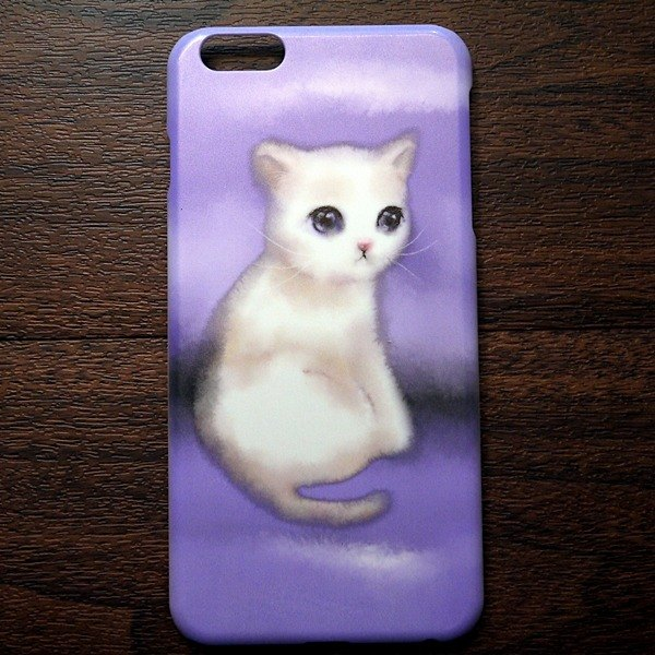 Watercolor cat s002 years of quiet good David Videos cat iPhone (i5.i6s, i6splus.I7.I7plus) / Android (Samsung, Samsung, HTC, Sony) designer mobile phone shell / protective cover / kitty cat phone shell