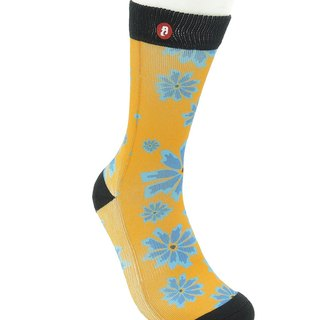 Hong Kong Design | Fool's Day stamp socks -Breezy Yellow 00003