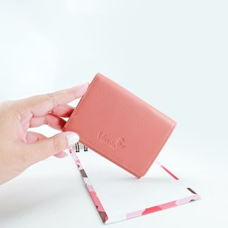 Coral Pink: Mini Purse / Cow Leather