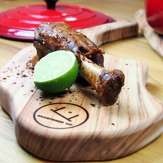 Lamb Cutlet Shaped Serving board