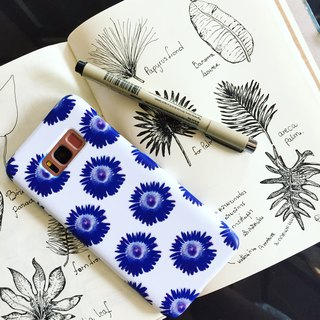 Blue sunflower Phone case