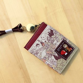 Japanese ticket card clip fairy tale series Little Red Riding Hood (horizontal opening)