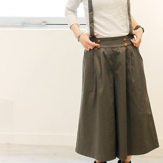 ☆ Palette ☆ 彡 pallet walnut button suspender gaucho