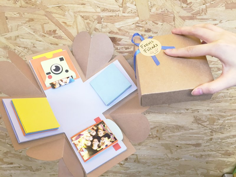 爆炸盒連4個機關材料包