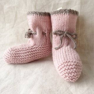 En'ami baby bootie wool × cotton 6M ~ 181