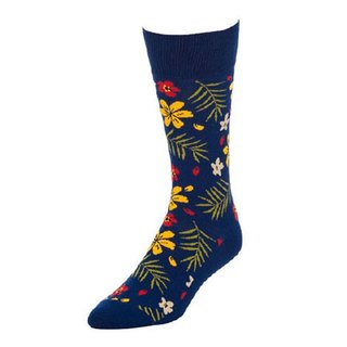 Resort dark blue California design men's fashion cotton stockings personality full of thousands of free transport