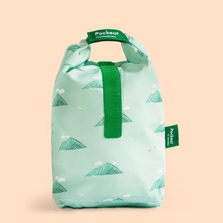 Good day | Pockeat green food bag (large food bag) - Yushan