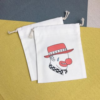 Drawstring Clown Storage/Gift/Place/Constellation