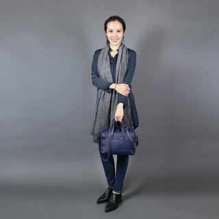 Passion Boston bag blue hand / shoulder / hatchback