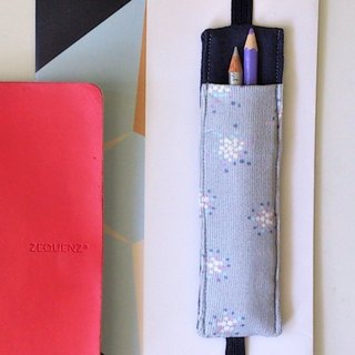 Journal Pen Holder (Light Grey)