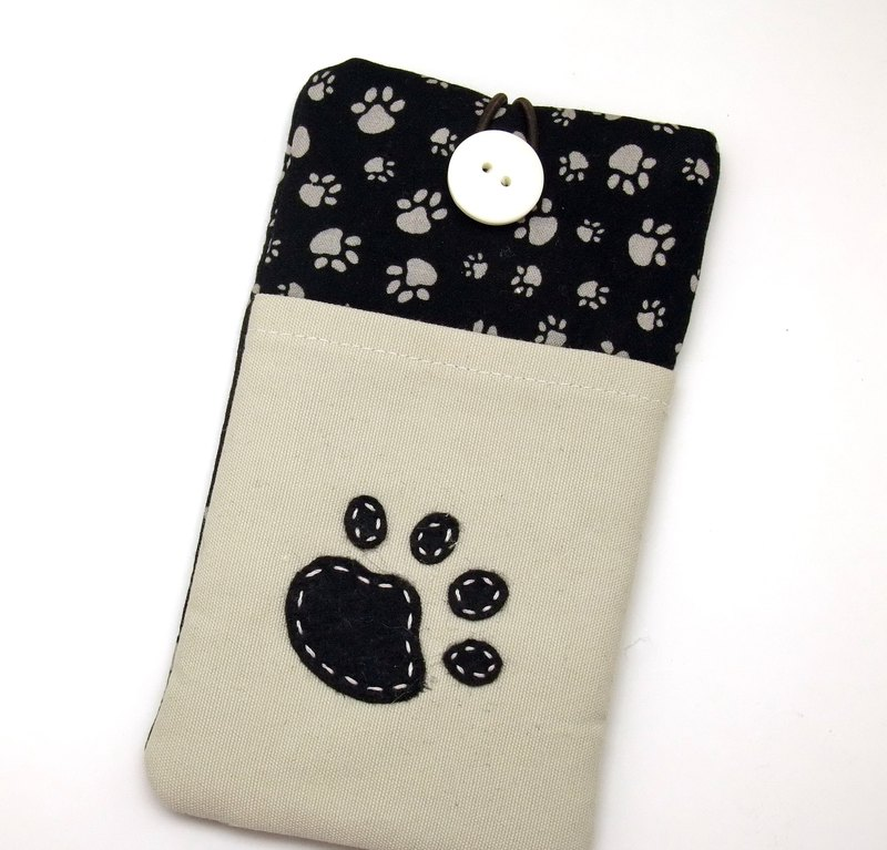 iPhone sleeve, Samsung Galaxy Note 8 case, cell phone pouch, iPod sleeve (P-249)