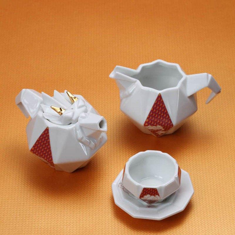 八彩龍6入禮盒(壺+海+2杯+2托)