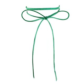Classic rope necklace - Green