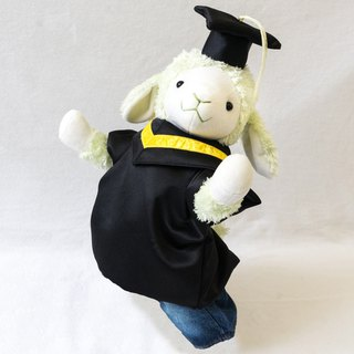 Graduation Sheep 43cm Variety Straps Caps Ear Color Customized Cats & Good Men