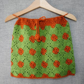 Baby girl skirt, handmade skirt, crochet skirt