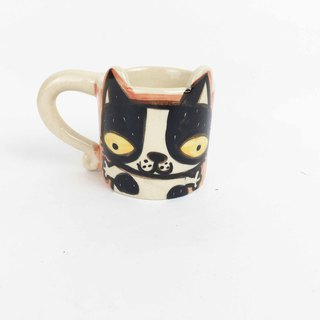 Nice Little Clay espresso cup flower cat 0133-11