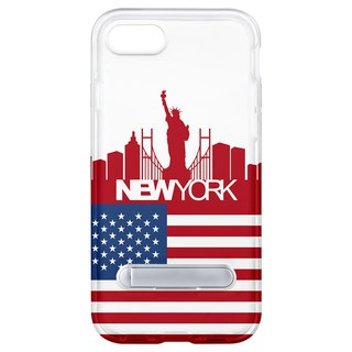 NYC hidden magnet bracket iPhone 8 7 6 plus phone case