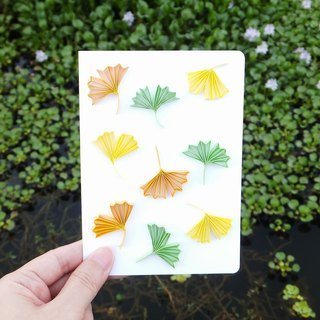 Hand made decorative cards-Ginkgo biloba