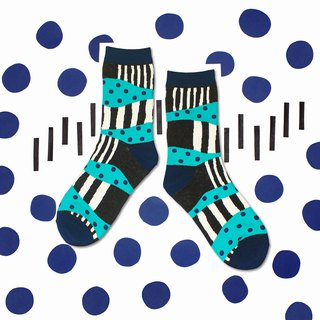 Sandbank Black Unisex Crew Socks | mens socks | womens socks | comfortable socks
