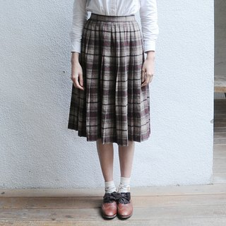 Spend vintage | Glaser division multiple Plaid pleated skirt