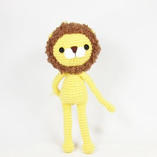 Serious lion - lion - ornaments - dolls