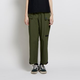 Hook-Look - Sticker with Straight Straight Pants - Army Green