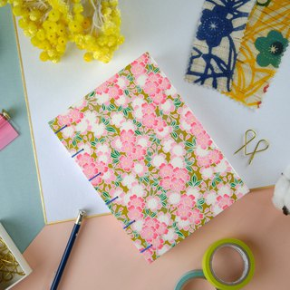 Dancing Sakura - A5 manual notebook / PDA / diary / album / log / gift