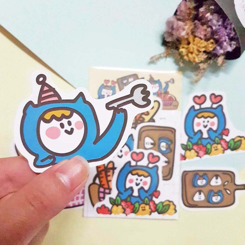 Ning's Stickers - Picnic