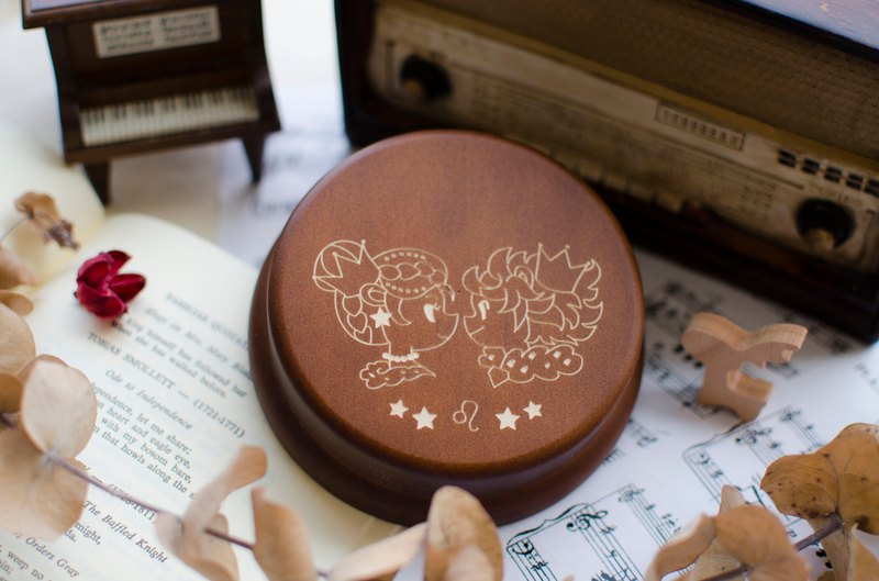 Twelve Constellation Music Box-Cancer, Lion, Virgin, Libra, Scorpio Sagittarius [Birthday Commemoration]