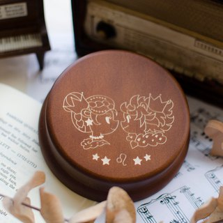 [Birthday Gift, Commemorative Gift, Christmas Gift] 12 Constellation Leo / Music Box