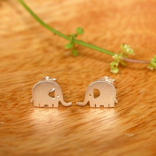Elephant :D - ต่างหูช้าง D - Silver Earrings / Earrings / 耳環 / 銀
