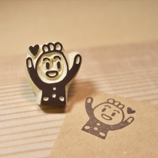 Long live a small hand-rubber stamp seal