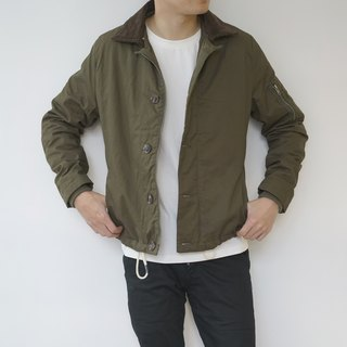 Deck Jacket with detachable collar/outer/jacket/unisex