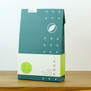 Sanxia Bi Luo Chun Green Tea-Family Pack (28 Teabags/90g Loose Tea)
