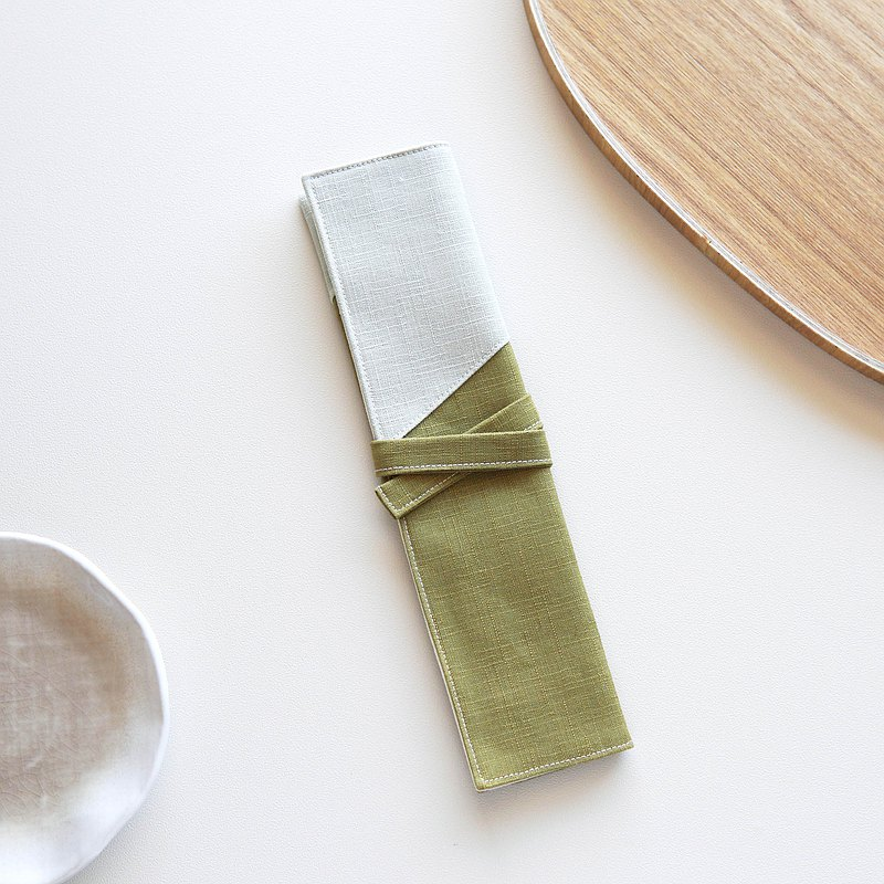 橄欖  環保餐具組 吸管組 餐具袋 餐具套  客製化繡字