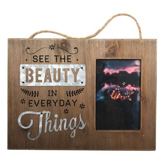 Scandi Photo Frame - See The Beauty