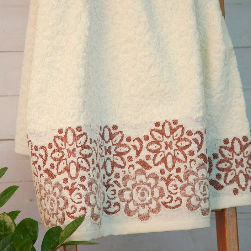 暮|洗臉巾 方巾 浴巾|葡萄牙製造生產|浪漫生活|吸水好質感|毛巾