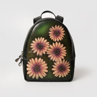 July Chagall July Handcarved Flower Daisy Backpack