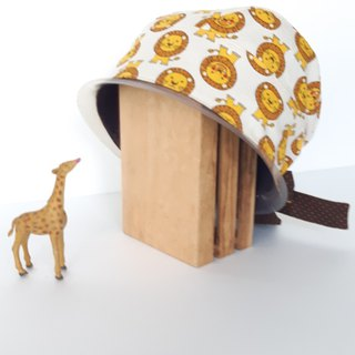 Lion King double hooded cap work cap cooking cap