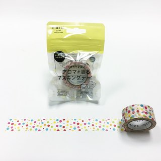 maste Outdoor me Aroma Masking Tape【Colorful Dots (MST-FA01-B)】
